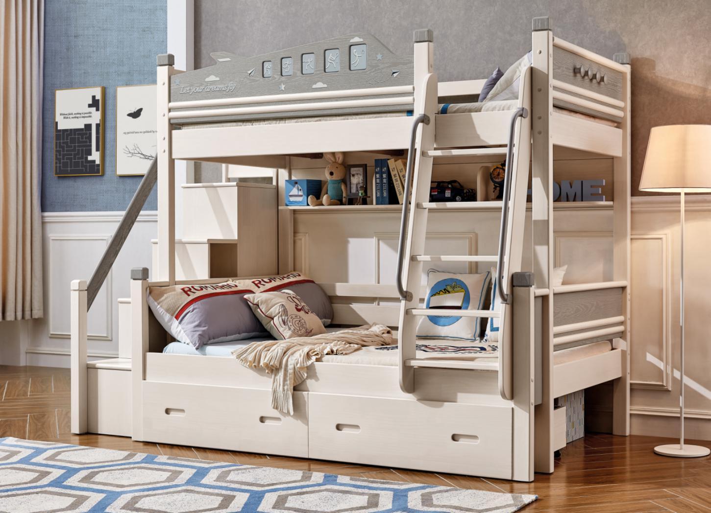 滑梯儿童床